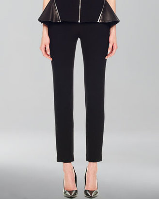 Michael Kors Stretch-Crepe Cropped Pants