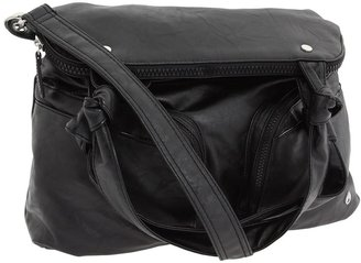 Nixon Shout It Out Satchel (Black) - Bags and Luggage