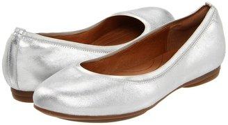 Indigo by Clarks Plush Dot (Silver Leather) - Footwear