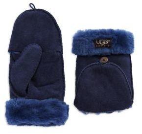 UGG Ladies Shearling Flip Mittens