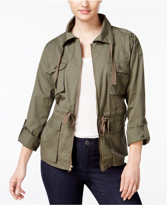 Bar Iii Field Jacket, Only at Macy's $79.50 thestylecure.com