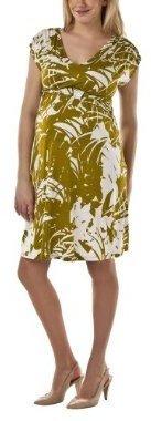 Liz Lange for Target® Maternity Short-Sleeve V-Neck Knit Dress - Green Palm
