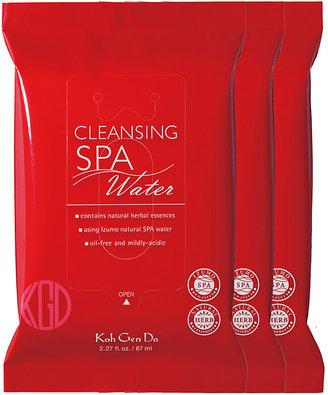 Koh Gen Do Women's Cleansing Spa Water Cloths