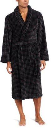 Intimo Men's Printed Corel Fleece Robe