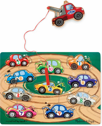 Melissa and Doug Kids Toy, Tow Truck Magnetic Puzzle Game $9.99 thestylecure.com