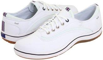 Keds Loyal CVO Stretch Twill (White Stretch Twill) - Footwear