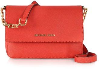 Michael Kors Selma Saffiano Leather Flap Crossbody Bag