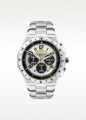 Haurex Vulcano - Stainless Steel Bracelet Chronograph Watch