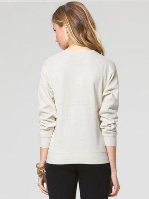 C&C California Heat seal french terry sweatshirt