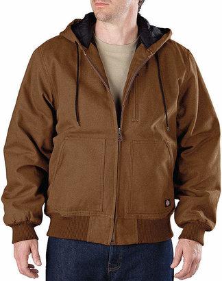 Dickies Heavy-Duty Sanded Duck Hooded Jacket-Big & Tall
