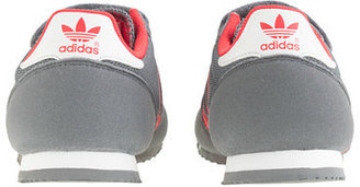 adidas Boys' Dragon sneakers in grey in larger sizes