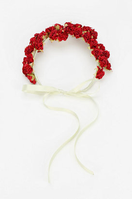 Urban Outfitters Rouge Pony Meadow Flower Crown Headband