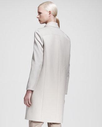 Helmut Lang Apex Seamed Raglan-Sleeve Coat