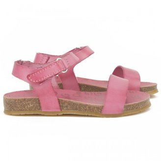 D&G Pink Leather Sandals