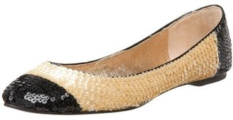 All Black Women's More Sequins Flat