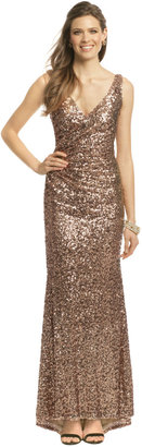 Mark & James by Badgley Mischka Crystal Pop Gown