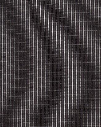 English Laundry Plaid Dobby Dress, Black