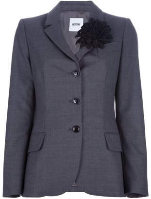 Moschino Cheap & Chic corsage embellished blazer