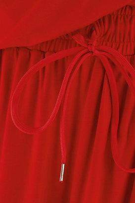 Vivienne Westwood Quest draped stretch-jersey dress