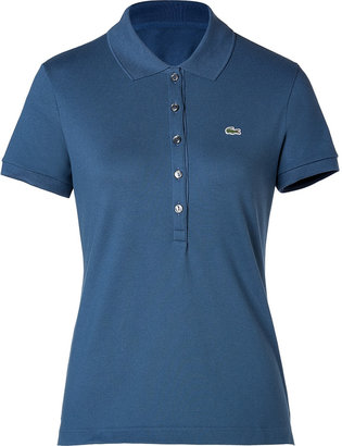 Lacoste Cotton Stretch Short Sleeve Polo Shirt