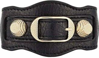 Balenciaga Women's Arena Leather Giant Bracelet