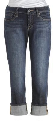 Lucky Brand Sweet N' Straight Cropped Jeans