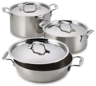 All-Clad Stainless Steel 3-Quart Covered Casserole
