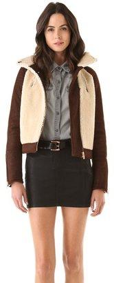 J Brand ready-to-wear Belita Shearling Jacket