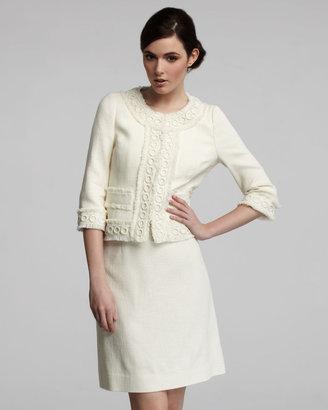 Kate Spade Helena A-Line Skirt, Cream