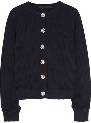 Marc Jacobs Wool, silk and cashmere-blend cardigan