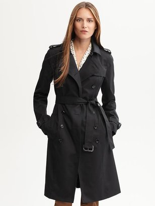 Banana Republic Classic belted trench