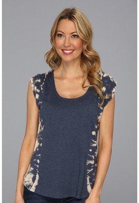 Calvin Klein Jeans Side Tie Dye Knit (Marine Blue) - Apparel
