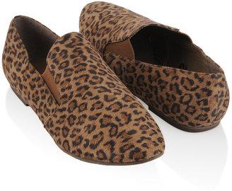 Vegan: Forever21 Leopard Loafers