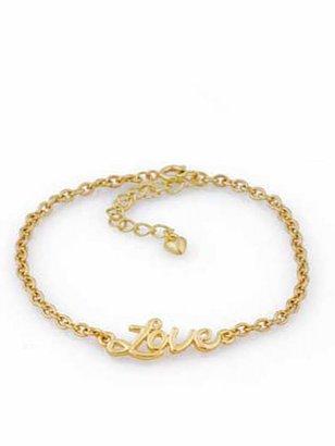 Belle Noel by Kim Kardashian Love Ankle Bracelet