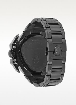 Lamborghini Tonino Spyder Black Stainless Steel Chrono Men's Watch