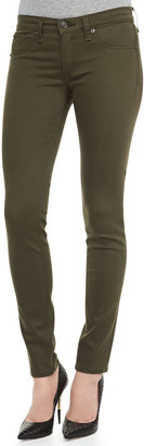 Rag and Bone The Legging Jeans, Army Sateen