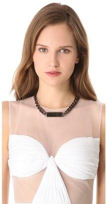 Noir Classic ID Necklace