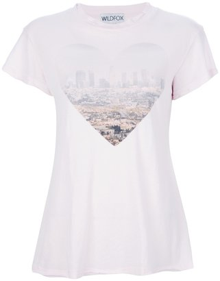 Wildfox Couture printed t-shirt