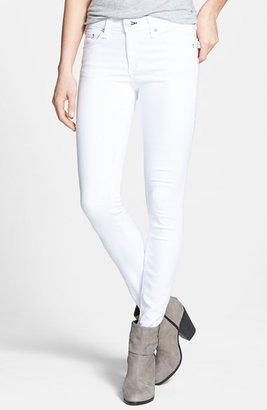 Rag and Bone 'The Skinny' Stretch Skinny Jeans (Bright White)