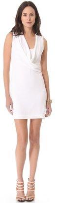 L'Agence Sleeveless Cowl Neck Dress