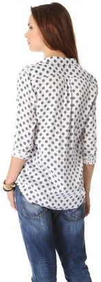 Equipment Keira Country Filigree Blouse