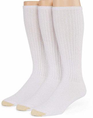 Gold Toe 3-pk. Athletic Liner Over-the-Calf Socks