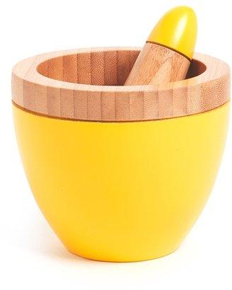 Core Home 'Modern' Lacquered Organic Bamboo Mortar & Pestle