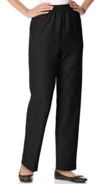Alfred Dunner Classics Pull-On Straight-Leg Pants