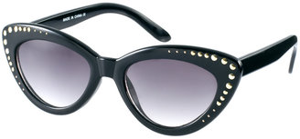 Asos Studded Cat Eye Sunglasses