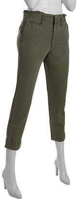 Marc by Marc Jacobs dusk green cotton 'Joan' cargo pants
