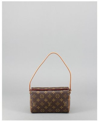 Louis Vuitton Pre-owned: brown monogram canvas 'Recital' bag
