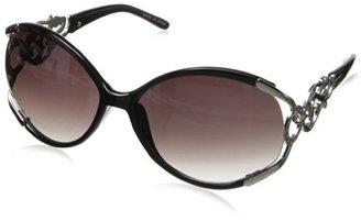 MLC Eyewear Women's Sexy Rhinestone Oval Sunglasses