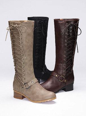 Victoria's Secret Colin Stuart Side-lace Riding Boot
