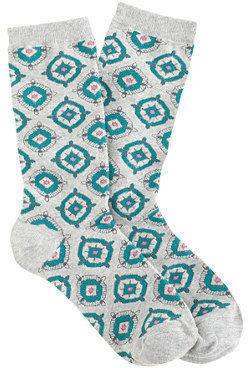 J.Crew Foulard trouser socks